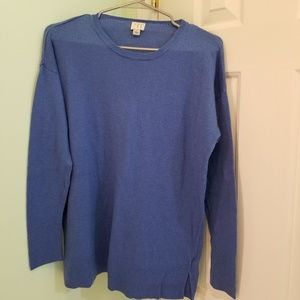 Women's size Large A New Day sweater blue soft